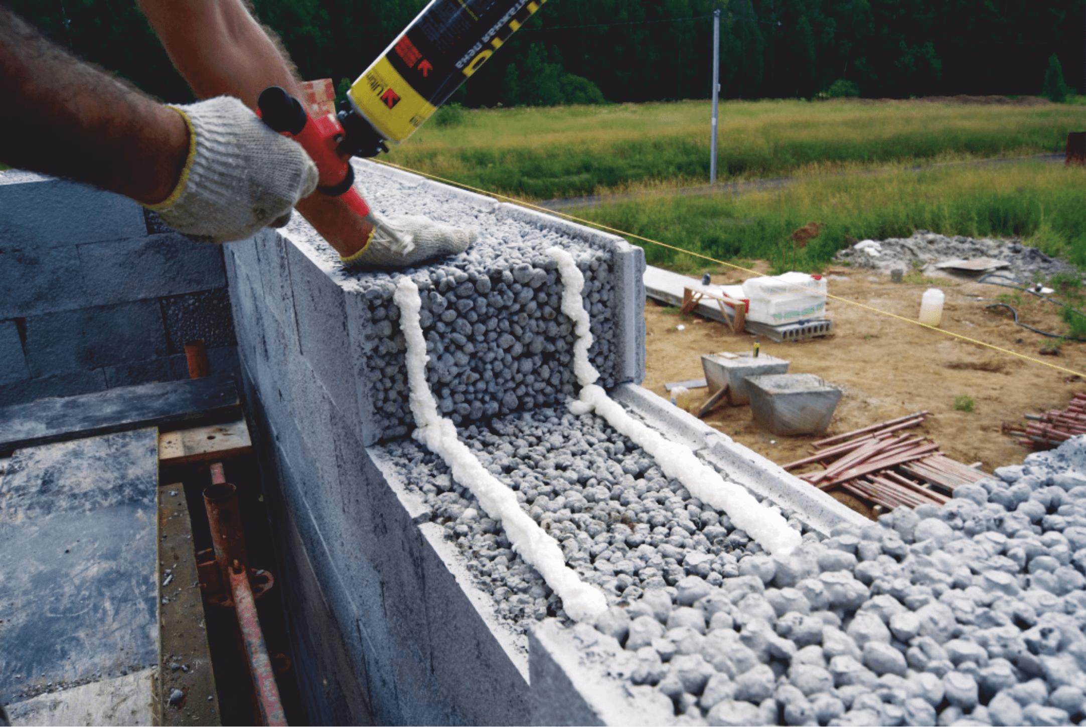 Баня своими руками из керамических блоков
